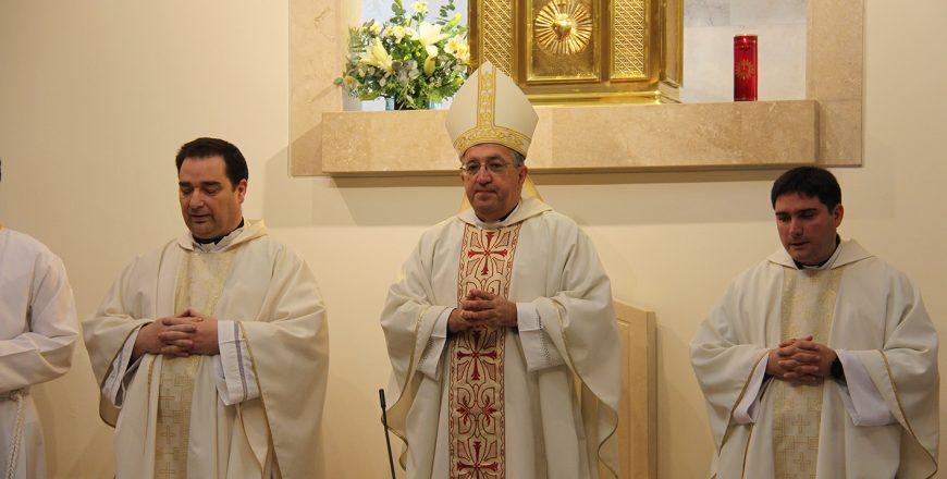 Visita obispo Getafe